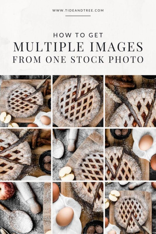 How To Get Multiple Images from One Stock Photo