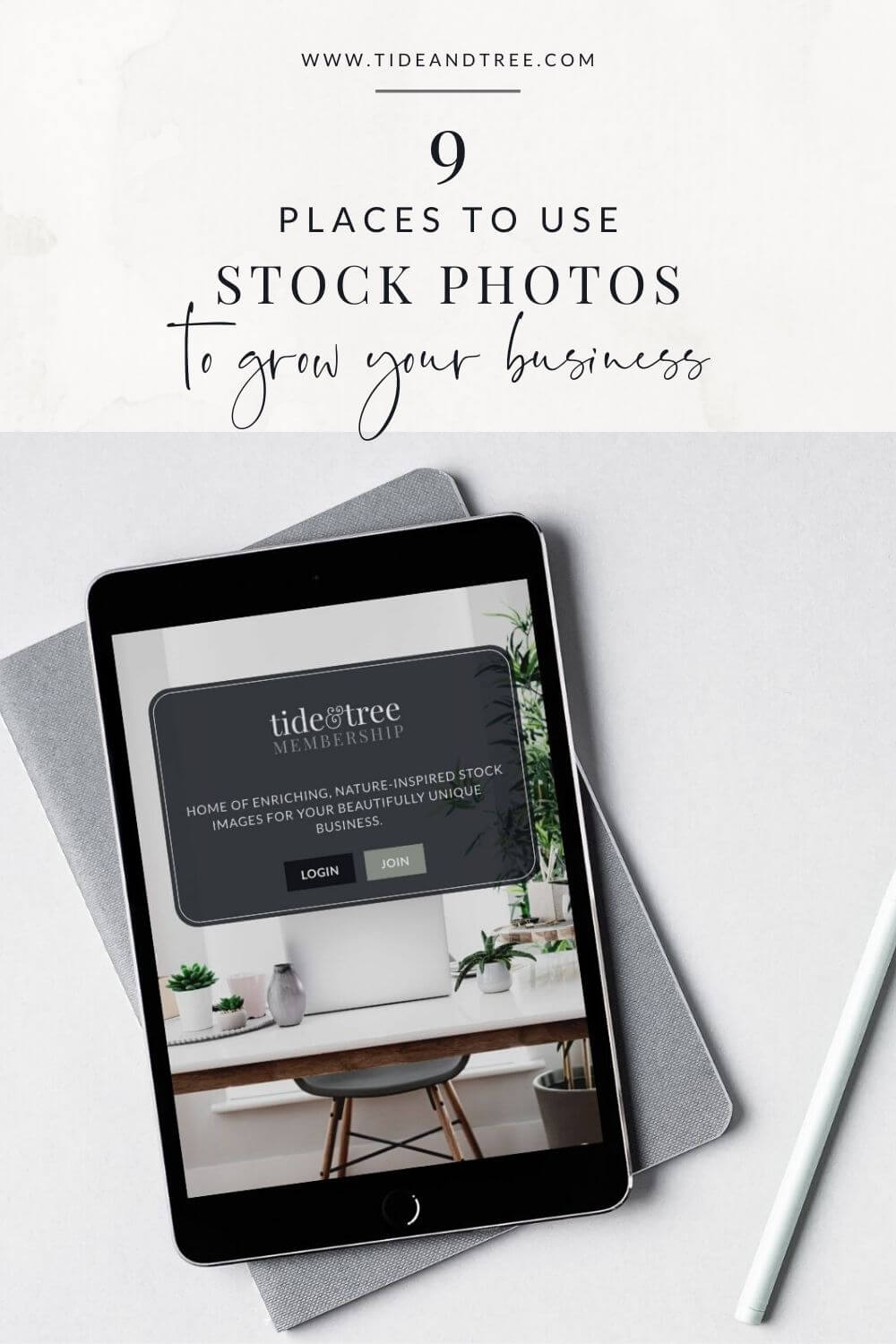 9 Places To Use Stock Imagery to Grow Your Business