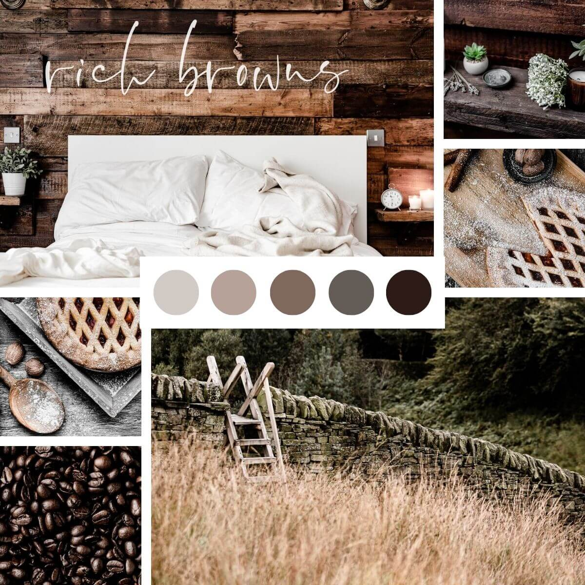 Natural Colours Inspo - Rich Browns