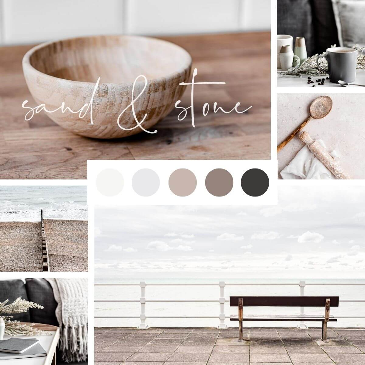 Natural Colours Inspo - Sand & Stone