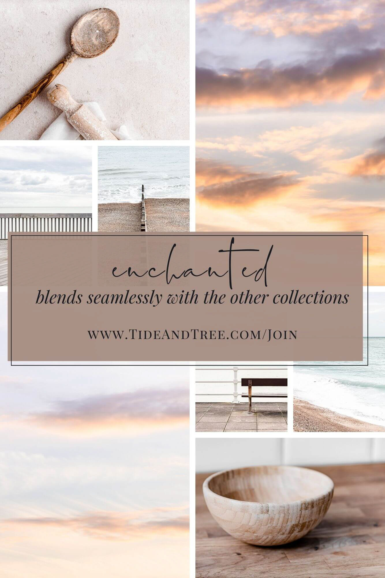Enchanted collection - pastel palette