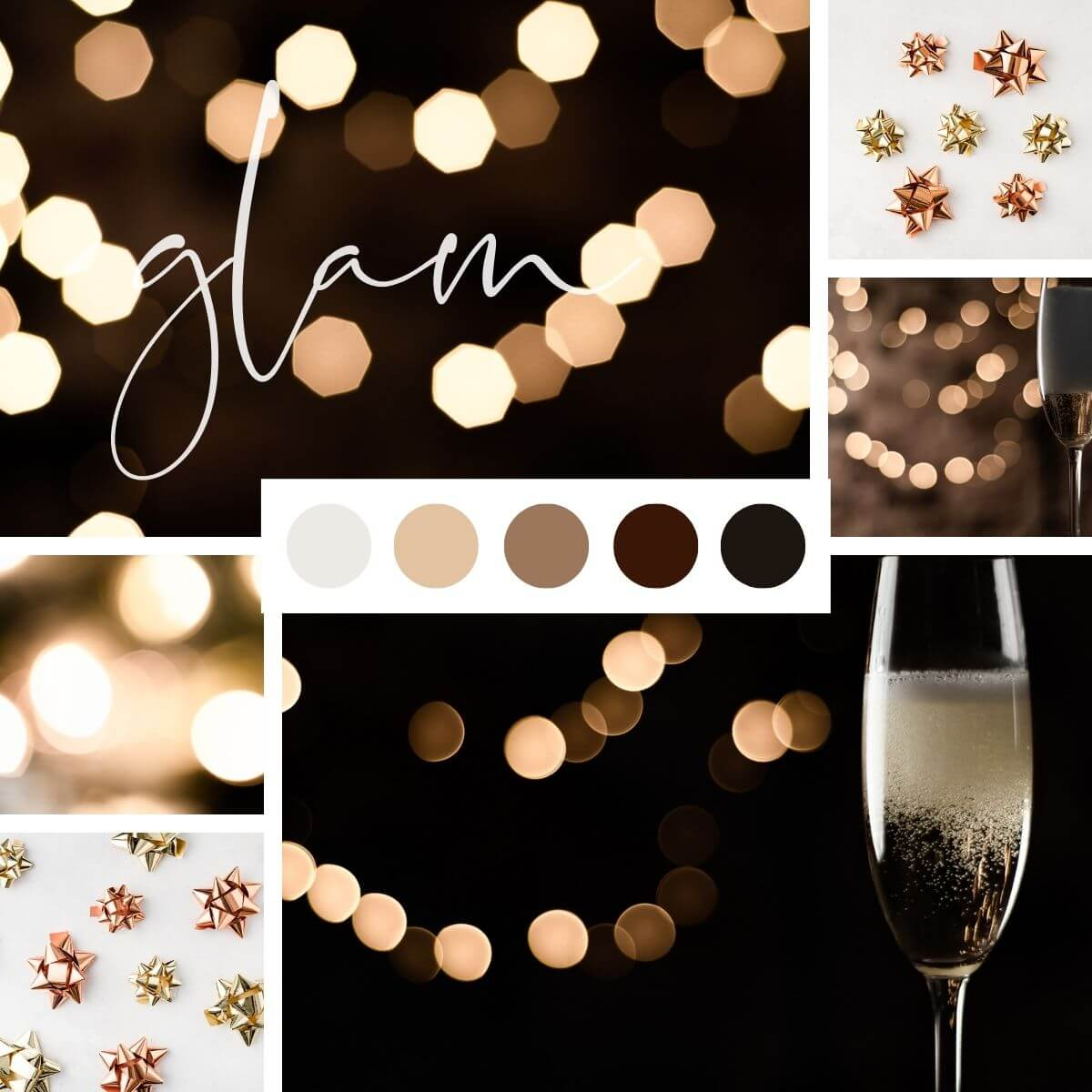 Glam stock images